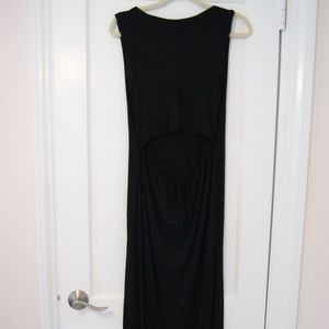 Feel the Piece by Terre Jacobs Black Maxi Dress